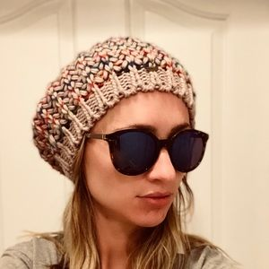 O'Neill colorful slouchy beanie